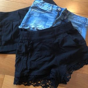 Express shorts bundle